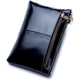 小銭入れ コインケース 財布 カードケース カード入れ レディース 本革レザー ブラック