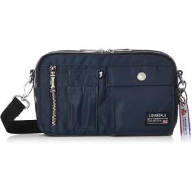 [ロンズデール] ショルダーバッグ ソフトツイル コンパクト 2WAY ショルダーベルト脱着可能 バッグインバッグ 20539014 ネイビー One Size