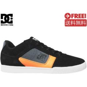 ブラックxオレンジ / 10.5(28.5cm) / DC ディーシー スケボー シューズ COLE PRO スウェードNO30
