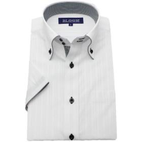 (ブルーム) BLOOM 2018夏 オリジナル 半袖 ワイシャツ クールビズ 形態安定加工 6 6L