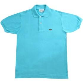LACOSTE(ラコステ) 半袖 ポロシャツ ワンポイント L1212 (3(日本Mサイズ), エメラルドブルー) [並行輸入品]