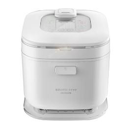 3公升大容量(約6人份),簡約明瞭LED觸控面板,100%食品級不沾鍋內,17種烹飪預設模式,分離式內鍋蓋