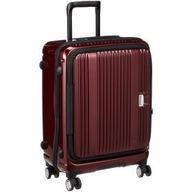 [バーマス] スーツケース ジッパー ユーロシティ フロントオープン 4輪 60291 レッド 55L 54 cm 3.3kg