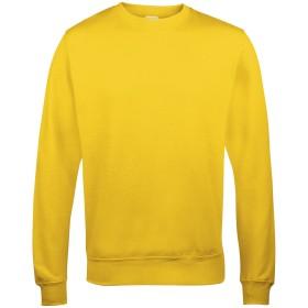 (アウディス) Awdis ユニセックス 無地 クルーネック スウェットシャツ トレーナー トップス (XL) (ゴールド)