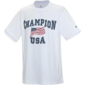 チャンピオン(champion) シーオドレス ティー(C ODORLESS TEE) C3-MS335 010 ホワイト L