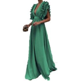 ChainSee_Dress DRESS レディース US サイズ: Large カラー: グリーン