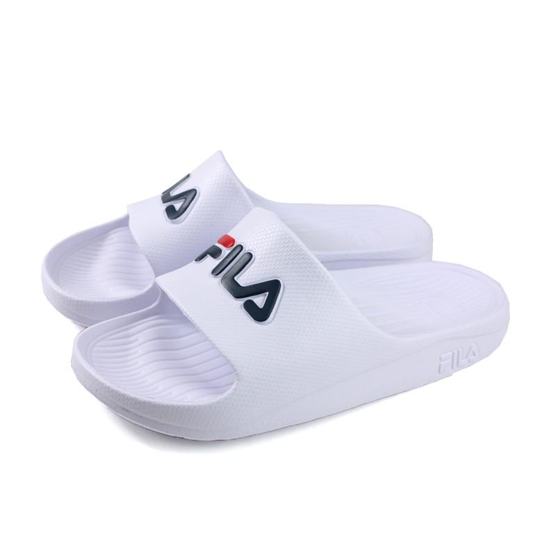 FILA 拖鞋 戶外 防水 女鞋 白色 4-S355Q-113 no047