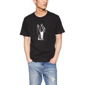 [ウィゴー] ヒューマンペンシルTシャツ(S) M ブラック