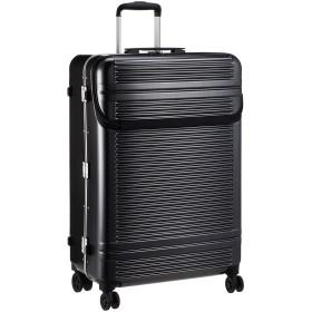 [サンコー] スーツケース フレーム WORLD STAR W 双輪 フロントオープン WSW1-LF 90L 5.8kg ヘアラインブラック