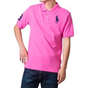 (ポロ ラルフローレン) POLO Ralph Lauren ポロシャツ M~L 相当 ボーイズサイズ ビッグポニー ピンク XL