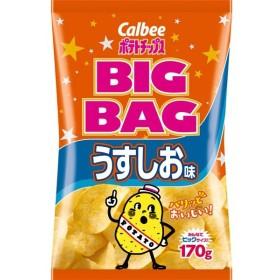 カルビー ポテトチップスBIGBAG うすしお味 12袋(1ケース)(MS)