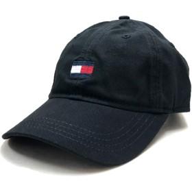 TOMMY HILFIGER CAP トミー ヒルフィガー 6パネル キャップ 黒 ブラック