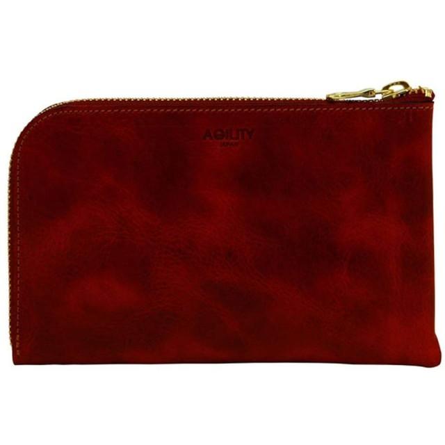 アジリティアッファ(AGILITY affa)『ボヤージュ』財布 ウォレット L字ファスナー パスポート スマートフォン パスポートケース ポシェット