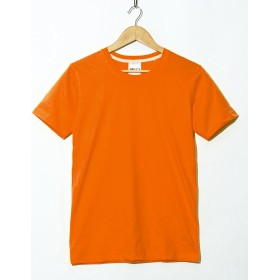 (ファロ) FALO クルーネック 無地 Tシャツ XXLサイズ 05. オレンジ fut-001-orange1-XXL