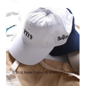 (シップス) SHIPS 帽子 キャップ SU BEATLES ビートルズ キャップ■ 118570005 日本 ONE SIZE 白 ホワイト 2