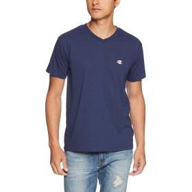 [チャンピオン] VネックTシャツ CM1HH202 メンズ ネイビー 日本 S (日本サイズS相当)