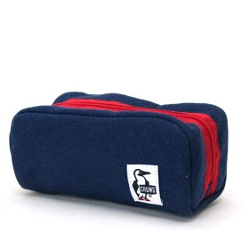 CHUMS チャムス Hurricane Pouch Sweat[CH60-0631]ワンサイズ H-Navy/Red