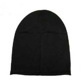 【抗がん剤治療】【医療用帽子】【ケア帽子】 シルク100%お肌にやさしいおうち帽子 (ブラック)