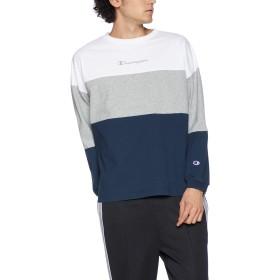 [チャンピオン] ロングスリーブTシャツ C3-P415 ホワイト 日本 L (日本サイズL相当)