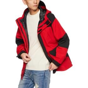 [ショット] TWOTONE SNORKEL PARKA 3182013 メンズ RED 日本 L (日本サイズL相当)
