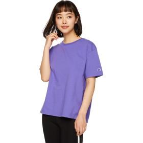 [チャンピオン] クルーネックTシャツ ベーシック CW-M322 レディース バイオレット 日本 M (日本サイズM相当)