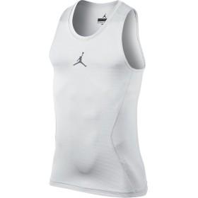 (ジョーダン) Jordan ウェア ノースリーブ タンクトップ Jordan 23 Alpha Dry Comp Tank Wht/C.Gry バスケットボール ランニング トレーニング S