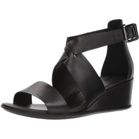 [エコー] サンダル SHAPE 35 Wedge Ankle BLACK EU 38(24 cm) 2.5E