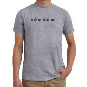 #Dog Trainer Hashtag Tシャツ