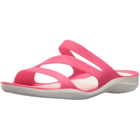 [クロックス] サンダル スウィフトウォーター ウィメン 203998 Paradise Pink/White 22 cm