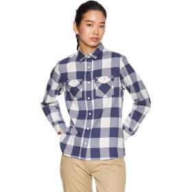 [Mizuno] アウトドアウェア ブレスサーモ ウールトレイルシャツ A2MC8703 レディース メディーバルブルー 日本 S (日本サイズS相当)