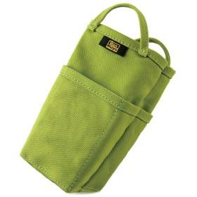 バンナイズ 帆布 の バッグインバッグ/縦型 ( 8号 帆布 製/ライム )