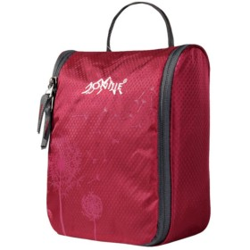 (eones) トラベルポーチ 吊り下げ トイレタリーバッグ バスルームポーチ 旅行 出張 便利グッズ 全7色 (ピンク)