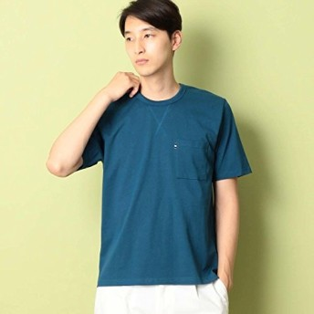 コムサコミューン(COMME CA COMMUNE) スヴィン コットン Tシャツ【ブルー(22)/M】