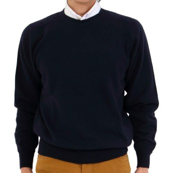 GOBI(ゴビ) カシミヤ100%丸首セーター ニット カシミヤセーター