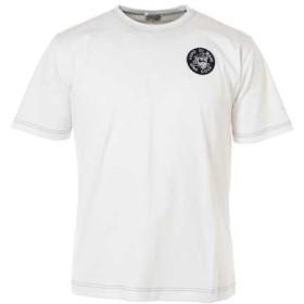 (シナコバ) SINA COVA Tシャツ ワンポイント 定番 綿 天竺 マリンウェア (ホワイト) Mサイズ 10000530