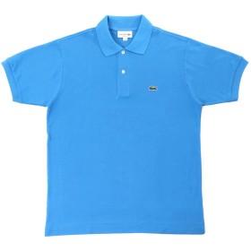 LACOSTE(ラコステ) 半袖 ポロシャツ ワンポイント L1212 (2(日本Sサイズ), カリビアンブルー) [並行輸入品]
