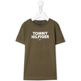 Tommy Hilfiger Junior ロゴ Tシャツ - グリーン