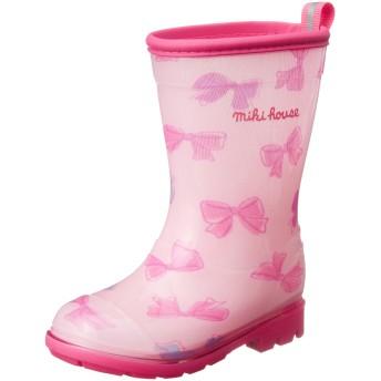 ミキハウス (MIKIHOUSE) レインブーツ 10-9463-614 18cm ピンク