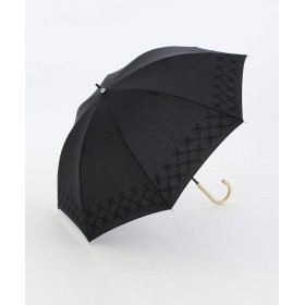 Afternoon Tea LIVING 幾何学フラワー刺繍晴雨兼用長傘