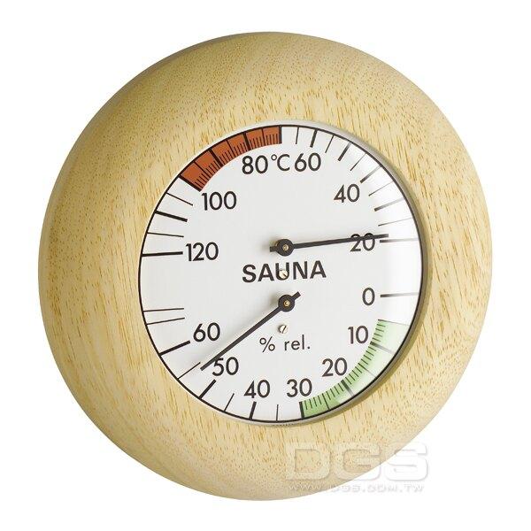 《TFA》毛髮溫濕度計 三溫暖用指針型 Sauna-Thermo-Hygrometer