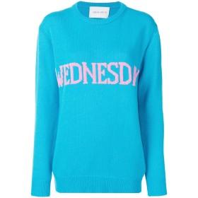 Alberta Ferretti Wednesday セーター - ブルー