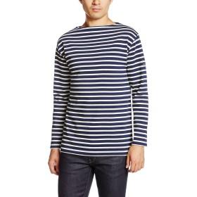 [セントジェームス] Tシャツ 2501 メンズ marine/ecru EU 6-(日本サイズXL相当)