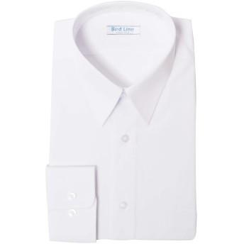 Bird Line 男子長袖Yシャツ A体・B体 形態安定 防汚加工 ホワイト (A体 180)