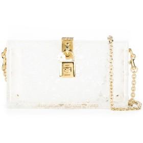 Dolce & Gabbana Dolce Box クラッチバッグ - ホワイト