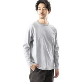 [ワークノットワーク] tシャツ SUPER HEAVY LONG-SLEEVE T-SHIRTS メンズ GRAY L