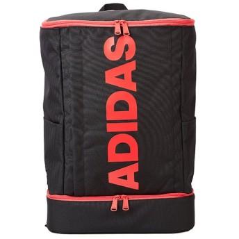 カバンのセレクション アディダス リュック スクエア型 27L B4 ADIDAS 55855 シューズ収納 男女兼用 メンズ レディース ユニセックス ブラック系1 フリー 【Bag & Luggage SELECTION】