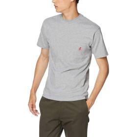 [グラミチ] Tシャツ ONE POINT TEE HEATHER GREY 日本 L (日本サイズL相当)