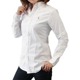 (ポロ ラルフローレン)POLO Ralph Lauren 長袖 シャツ ワンポイント ワイシャツ レディース オックスフォード ホワイト CF-XL [並行輸入品]