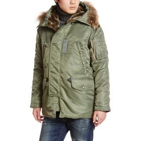 [アヴィレックス] ジャケット 6152145 メンズ SAGE 日本 XL-(日本サイズXL相当)