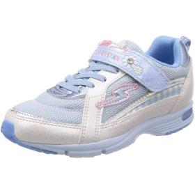 [スーパースター] 運動靴 通学履き 軽量 マジック 19cm~24.5cm キッズ SS J905 サックス 23 cm 2E
